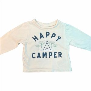 ✨3 for $30✨Old Navy 3-6M Girls Happy Camper Tee